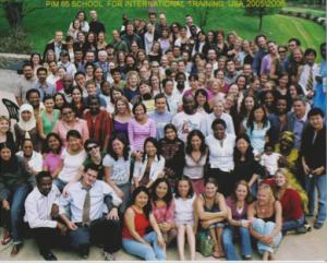 大学院にて、記念写真