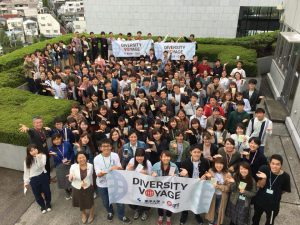 Toyo × Diversity Voyage 9期 集合写真